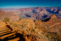 South Kaibab Trail, Grand Canyon Royalty Free Stock Photography