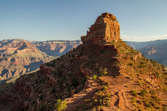 On south kaibab trail in the morning, Grand Canyon, USA Stock Photos