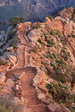 South Kaibab Trail steps Stock Photos