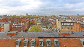 South Kensington Roofs Stock Photography