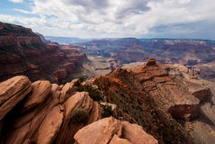 South Kiabab Trail of the Grand Canyon Stock Photography