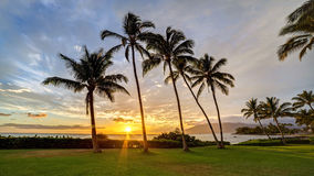 South Kihei Sunset Stock Photo