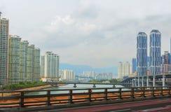 South Korea.Busan. Royalty Free Stock Photo