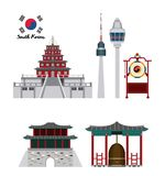 South korea culture. Icon vector illustration graphic design Stock Photography