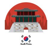South korea culture. Icon vector illustration graphic design Royalty Free Stock Photography