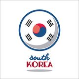 South korea culture. Icon vector illustration graphic design Royalty Free Stock Image