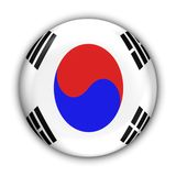 South Korea Flag Royalty Free Stock Images