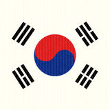 South Korea Flag Stock Photos