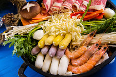 South Korea Hot pot Royalty Free Stock Photos