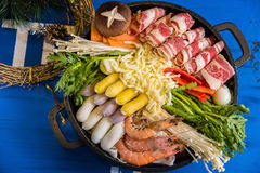 South Korea Hot pot Stock Photography