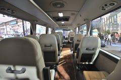 South Korea hyundai  COUNTY bus Stock Images