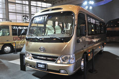 South Korea hyundai  COUNTY bus Royalty Free Stock Image