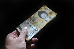 South Korea money Royalty Free Stock Photo