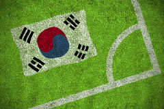 South korea national flag Royalty Free Stock Image