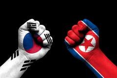 South Korea and North Korea conflict  international relations crisis