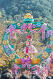 SOUTH KOREA - October 31: Dancers in colorful costumes take part Stock Photos