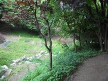South korea park stock photos