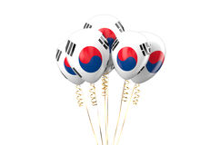 South Korea patriotic balloons,  holyday concept Stock Image