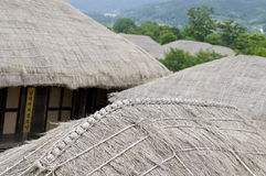 South Korea rooftops Royalty Free Stock Photography