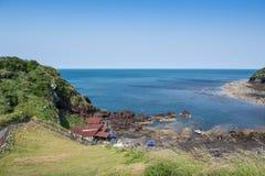South Korea`s Jeju Island beach scenery Stock Images