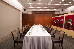 South Korea's view of the banquet hall Stock Image