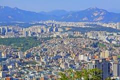 Korea Seoul Cityscape royalty free stock image
