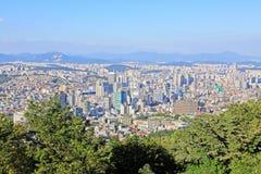 Korea Seoul Cityscape stock photo