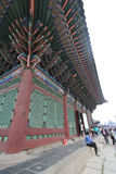 South Korea Seoul Gyeongbokgung Palace Royalty Free Stock Photo