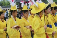 2015 South Korea Seoul Yeongam Wangin Culture Festival Stock Images