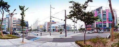 South Korea street stock photo