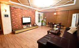 South Korea style living room Stock Image