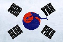 South Korea Winter Olympics - Curling. PYEONGCHANG, SOUTH KOREA, 9-25 February 2018 - Curling. Illustrative image for the South Korean Winter Olympics Stock Images