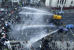 South Korean Anti-Government protest in Seoul Stock Images