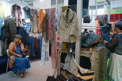 South Korean clothing sales Royalty Free Stock Photo