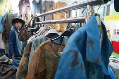 South Korean clothing sales Stock Photo