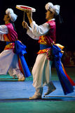 South korean dancers Royalty Free Stock Photo