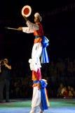 South korean dancers Stock Photo