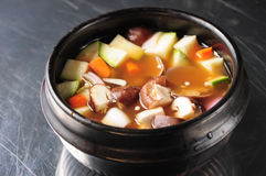 South Korean kimchi soup Stock Image