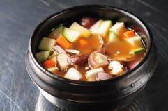 South Korean kimchi soup Stock Image