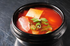 South Korean kimchi soup Stock Photos