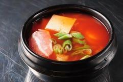 South Korean kimchi soup Stock Photos
