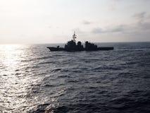 South Korean Naval Ship Stock Image