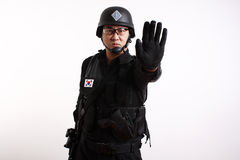 South Korean Soldier Stock Image