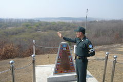 South Korean soldier Royalty Free Stock Photography
