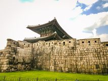 South Korean Wall and Fort complex royalty free stock image