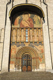 South Korsun gate with frescoes in the Assumption Cathedral of t Stock Photography