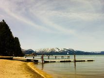 South Lake Tahoe Recreation Area stock photo