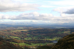 South Lakeland, Cumbria. Royalty Free Stock Photo