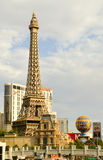 South Las Vegas Boulevard Strip Eiffel Tower Paris Casino Stock Image