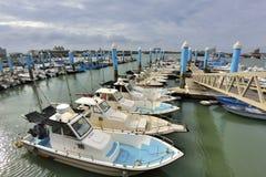 South Liao fishing port in the Hsinchu,Taiwan. Stock Photography